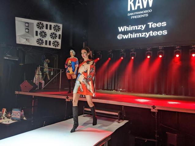 Raw Art Showcase : Sustainable Fashion Brand Whimzy Tees