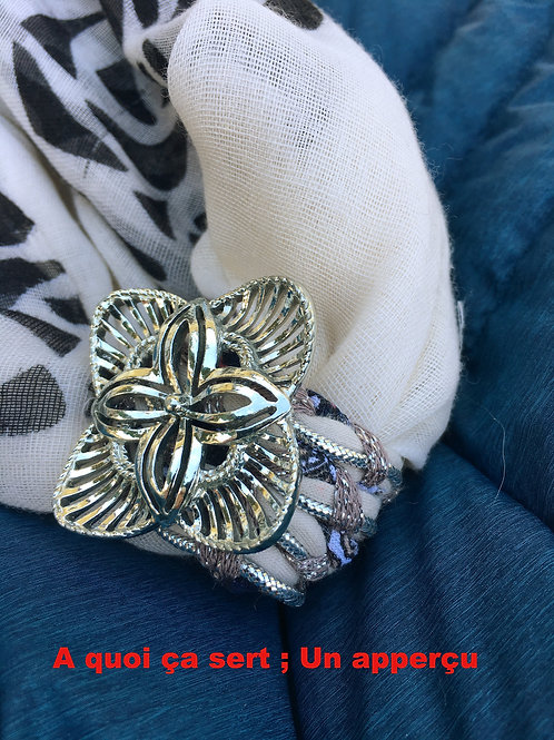 bijoux pour foulard