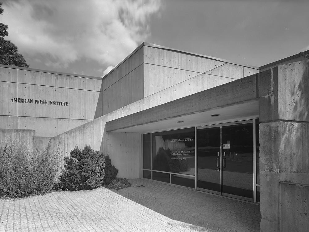Marcel Breuer's American Press Institute in Reston, Va.