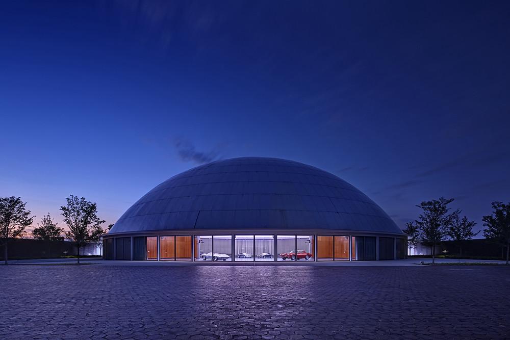 General Motors Design Dome & Auditorium. Credit: James Haefner Photography
