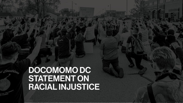 Docomomo DC Statement on Racial Injustice