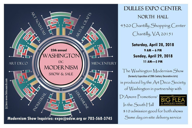 35th Annual Modernism Show, April 28-29