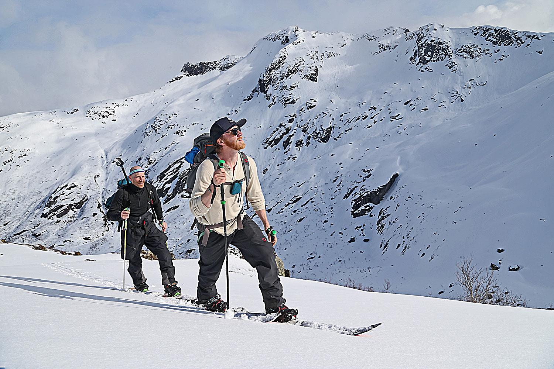 Mountaineering in Lofoten