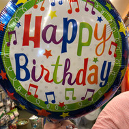 Birthday balloons (essentials) are a must