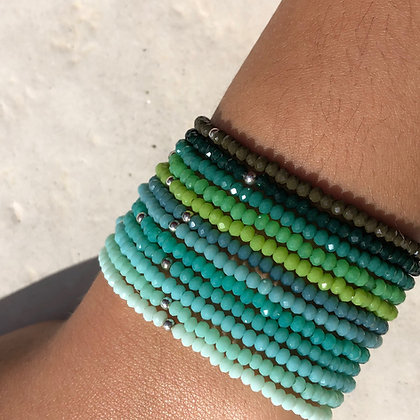 Le Perline nuance de  vert