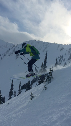 Skiing at Crystal Mountain