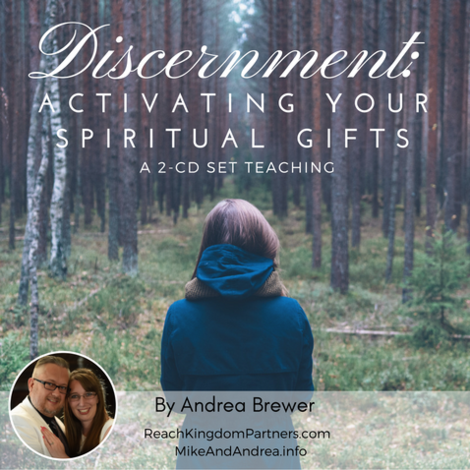 Discernment Series - Activating Your Spiritual Gifts (2 Part Audio Download)