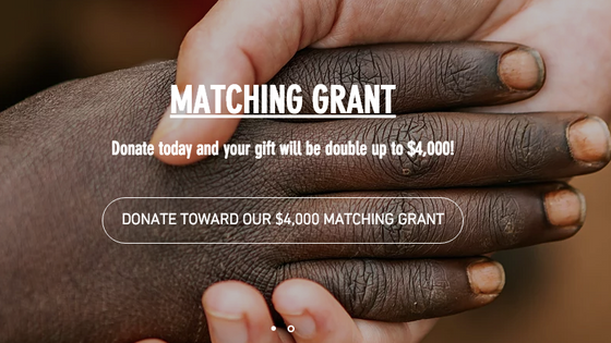 Grant Received - Double Your Donation - TODAY!