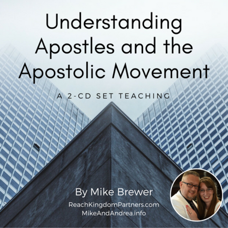 Apostles and The Apostolic Ministry (2 Part Audio Download)
