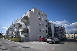 """Wohnhaus mit Parkdeck """"Simmelgasse 2"""", Bauplatz Q"""