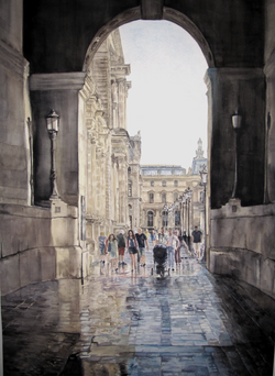 LEAVING THE LOUVRE
