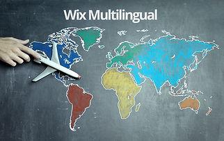 אתר דו-לשוני בוויקס   Wix Multilingual
