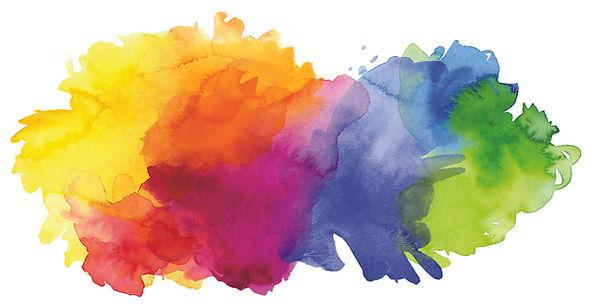 עצמאות עם משמעות - רקע עננים צבעוניים