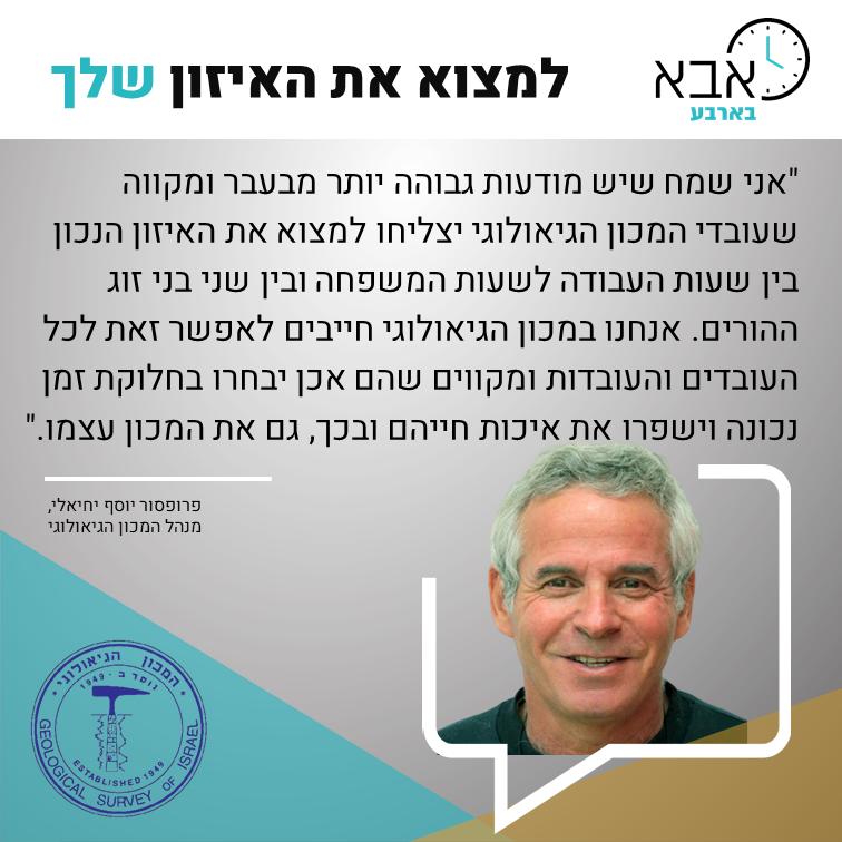 פרו יוסף יחיאלי - מנהל המכון הגיאולוגי.p