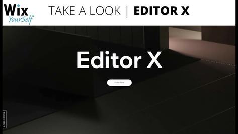 Editor X closed beta | Take a look