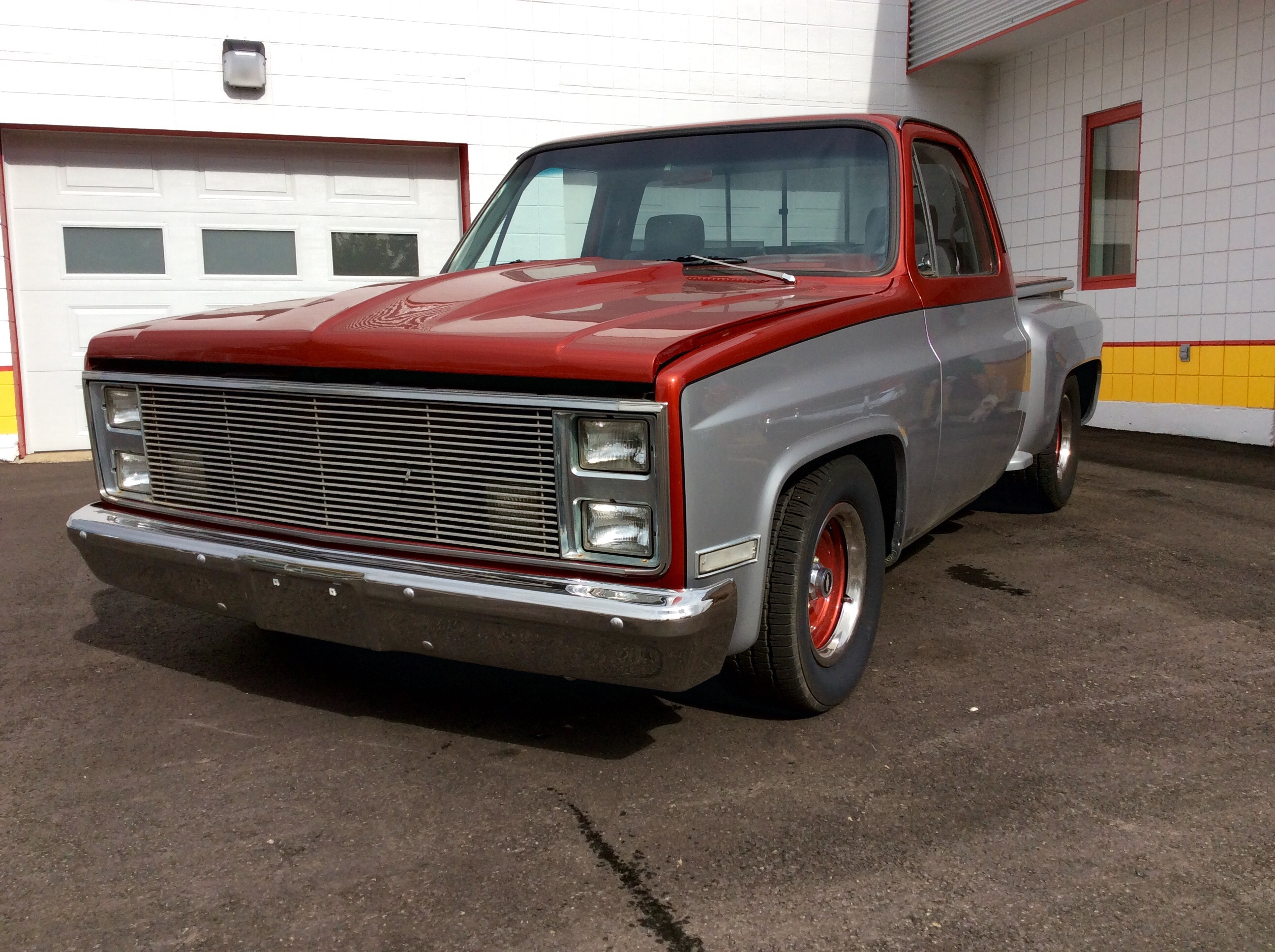1983 Chevy Shorbox Custom