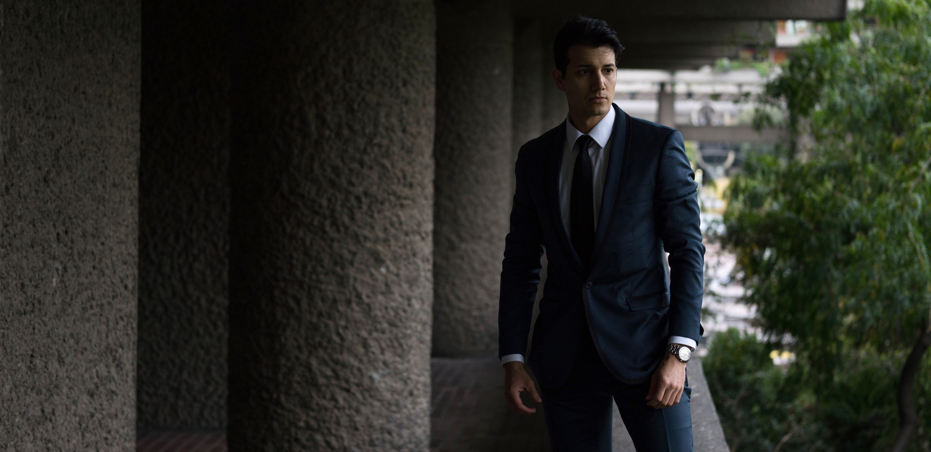 Suited in Barbican