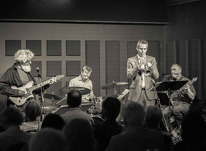 Jazz Station 8.24.19 Herse quartet 2 BW.