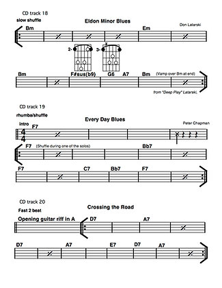 Blues Play-A-Long Track Guide