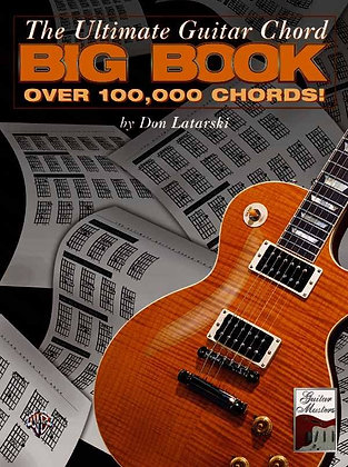 The Ultimate Guitar Chord Big Book 1st Half