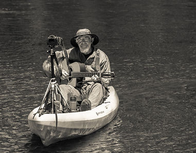 Kayak, Don & video gear B-W 6.jpg