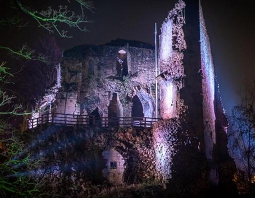 Knaresborough Castle Floodlights Scheme