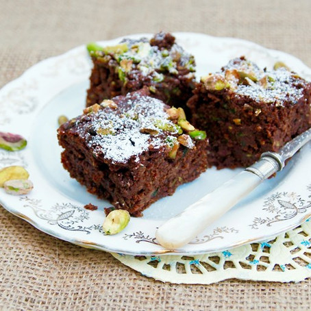 Courgette Brownies