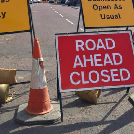 Roadworks Alert:  Plan your Journey