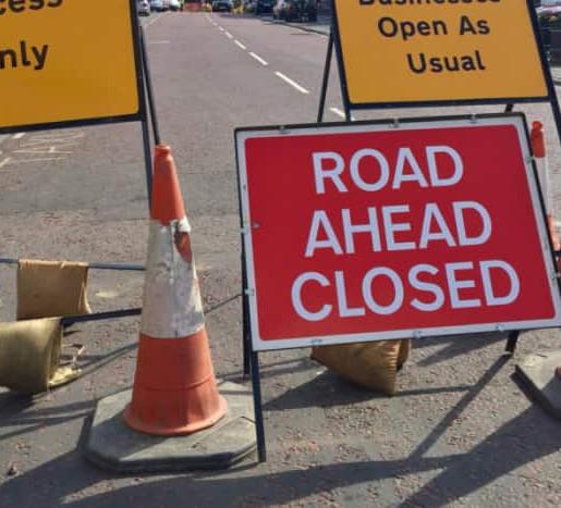 Roadworks Alert:  Plan your Journey