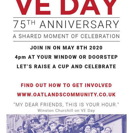 Community group plans virtual party for VE Day celebrations