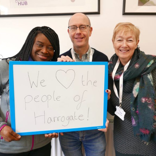 """The Harrogate Hub:   It's OK not to be happy in """"HappyGate"""""""