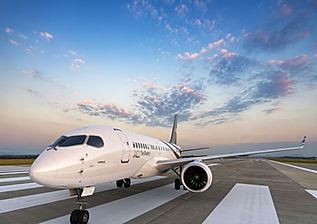 ACJ220 100 PW On Ground