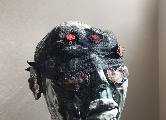 mutant daisies eye mask