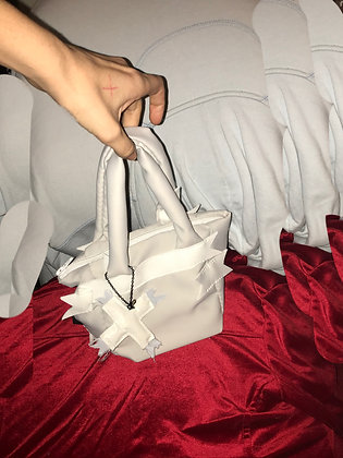cloud and ribbbon minihandbag