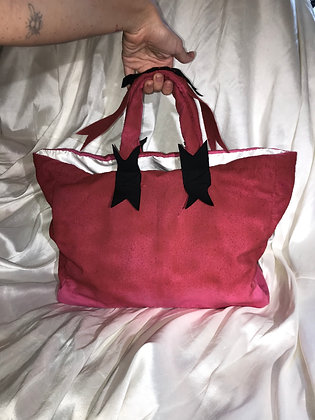 dusted pink bag