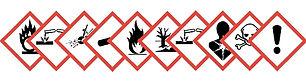 Etiquetas para el sector químico