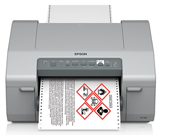 Impresora de etiquetas a color Epson C831