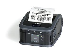 Impresora de etiquetas portátil ToshibaFP3