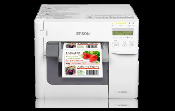 Impresora de etiquetas a color Epson C3500