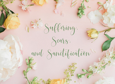 Suffering, Scars and Sanctification