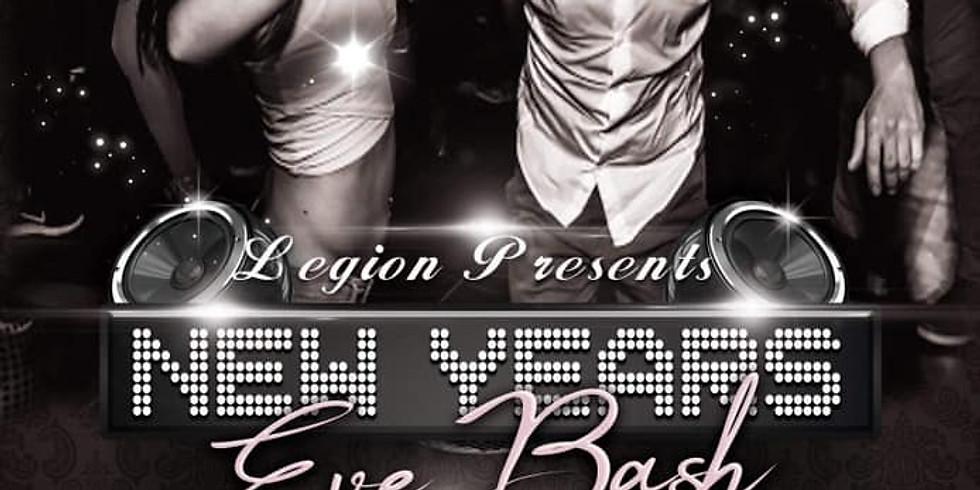 "The Legion and DJ Poli Presents ""Black & White"" NYE Extravaganza"
