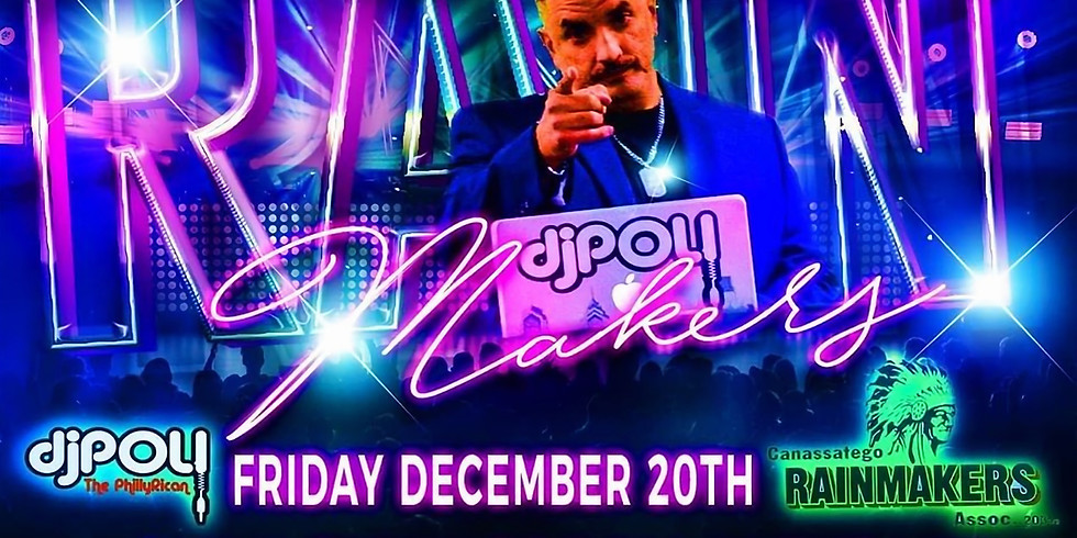Latin Night at Rainmakers December 20th W/Dj Poli