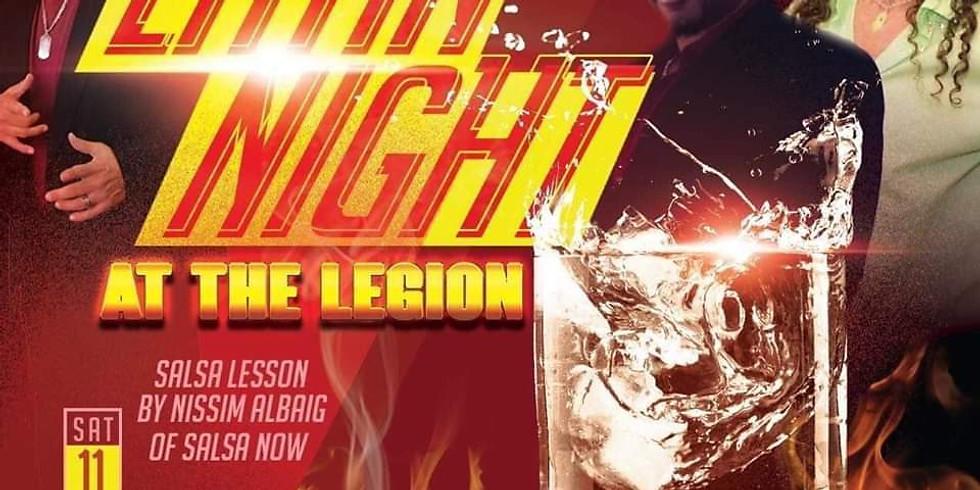 Latin Night At The Legion