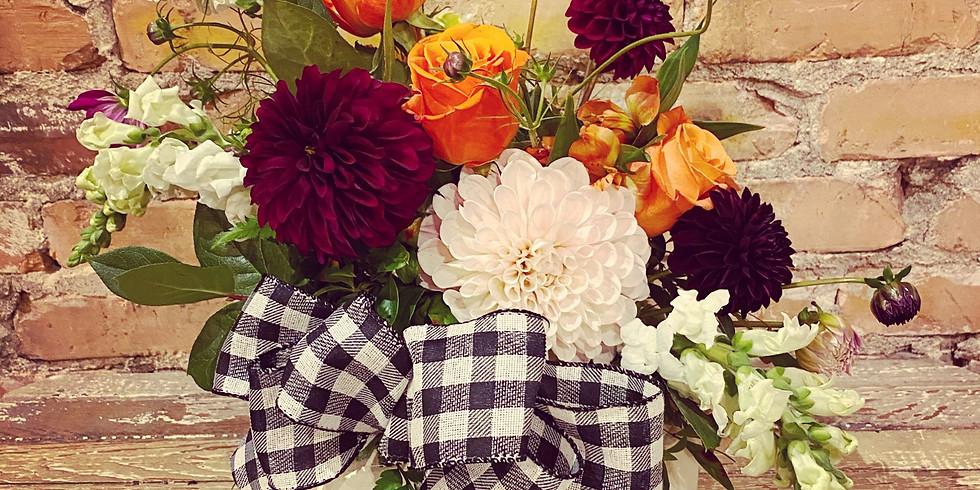 Pumpkin Floral Workshop
