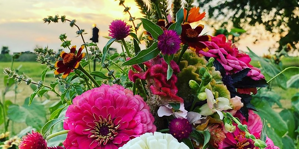 Pick Your Own Flowers: Sunset
