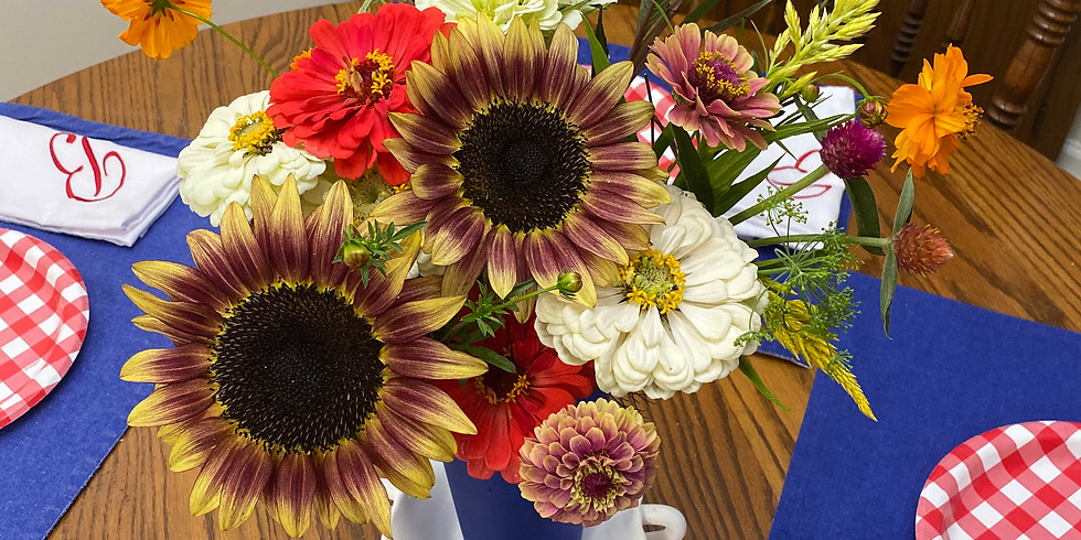 July Bouquet (Madison County Delivery)