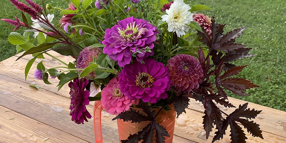Bouquet-to-go Saturday