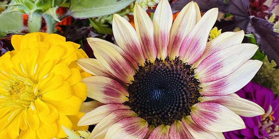 Supper & Sunflowers
