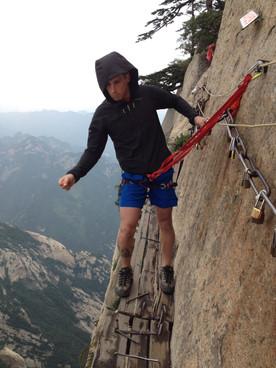 Mt Huashan, China