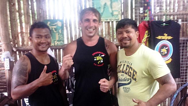 Muay Thai at Charn Chai